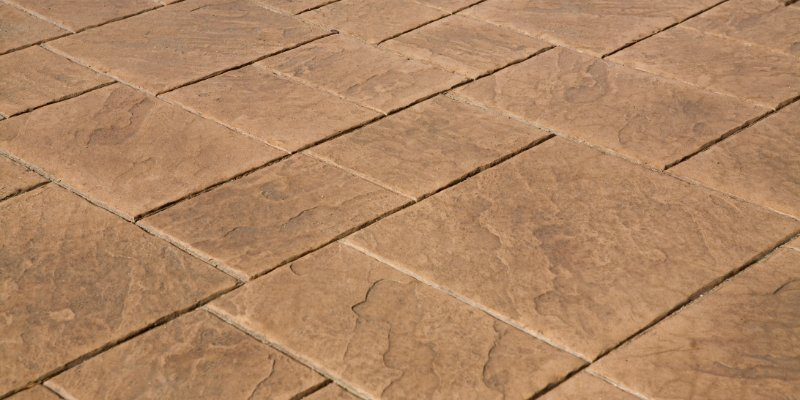 Stamped Concrete 1 - Frankston